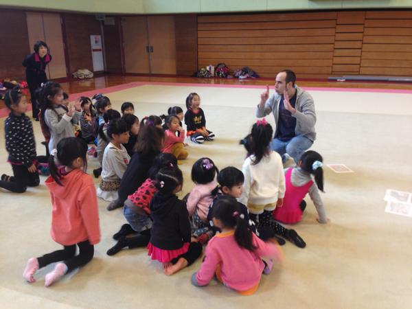 新体操クラブ パレスRGさんとコラボ 英語リトミック